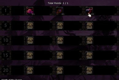 Whorelords of Draenor Talents